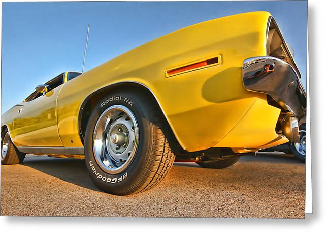 Hemi 'cuda - Ready For Take Off Greeting Card
