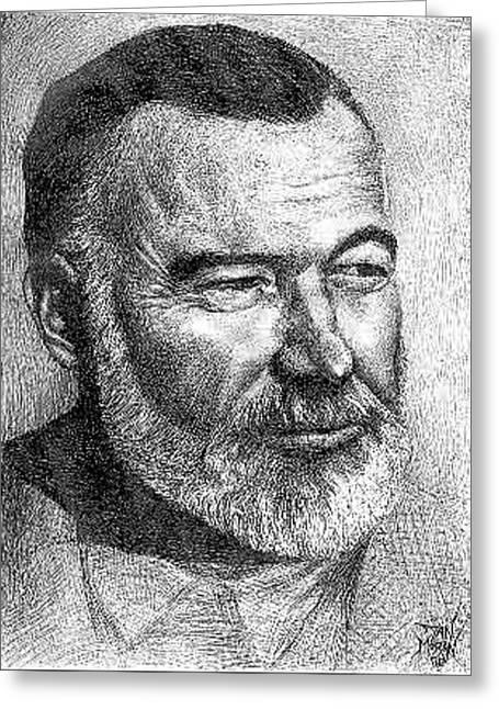 Hemingway Greeting Card
