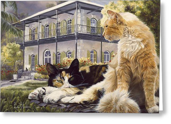 Hemingway House Greeting Card