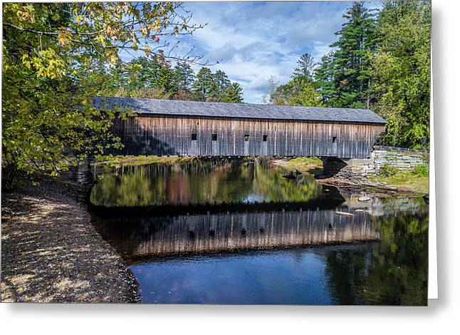 Hemlock Covered Bridge Greeting Card