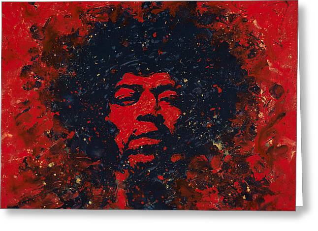 Hendrix Greeting Card