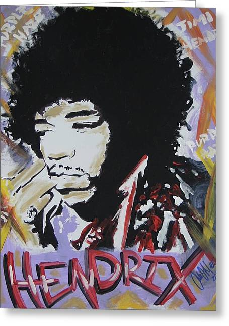 Hendrix Thoughts Greeting Card