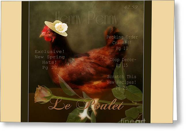 Henny Penny Greeting Card