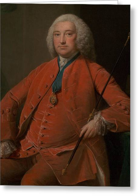 Henry Bellenden Greeting Card by Allan Ramsay