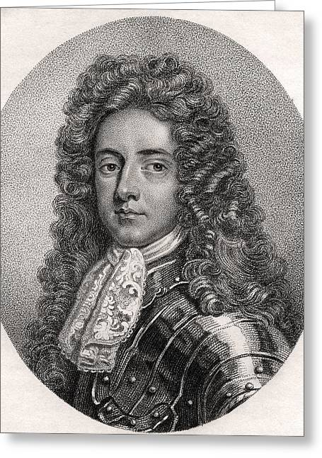 Henry Booth 1st Earl Of Warrington Lord Greeting Card by Vintage Design Pics