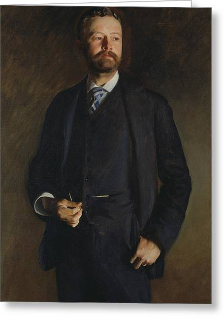 Henry Cabot Lodge Greeting Card by John Singer Sargent