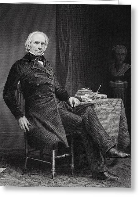 Henry Clay 1777 To 1852. American Greeting Card by Vintage Design Pics
