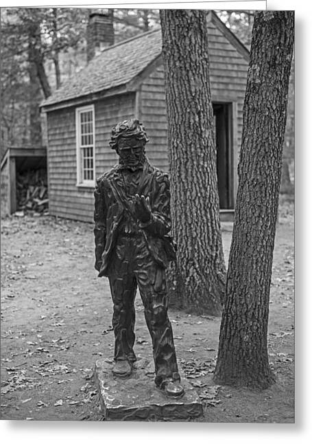 Henry David Thoreau House Walden Pond Concord Ma Greeting Card by Toby McGuire