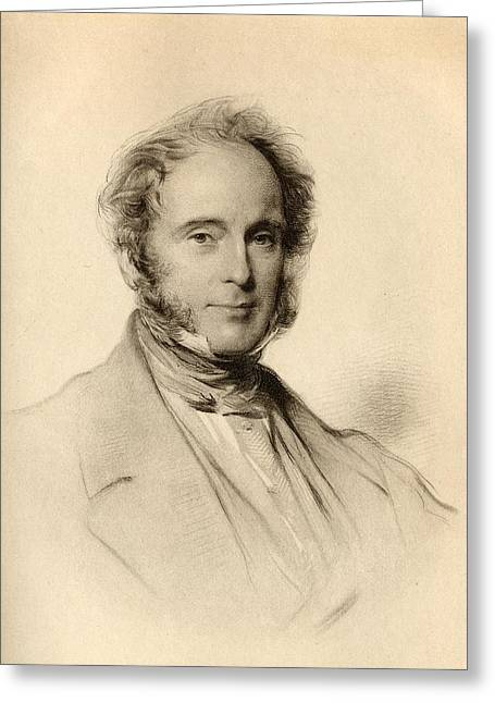 Henry John Temple,3rd Viscount Greeting Card by Vintage Design Pics