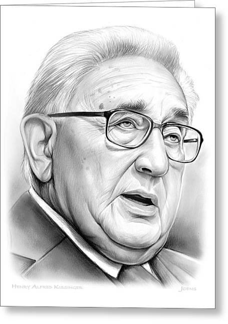 Henry Kissinger Greeting Card