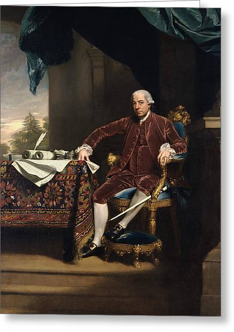 Henry Laurens Greeting Card by John Singleton Copley