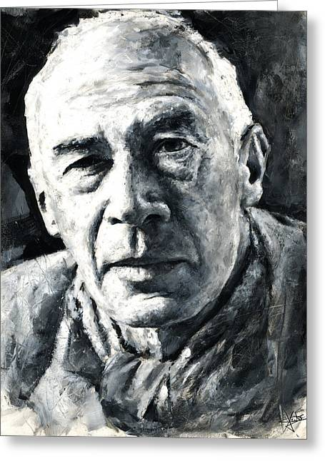 Henry Miller Greeting Card
