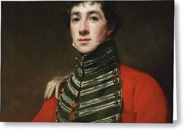 Henry Raeburn Scottish Greeting Card by Captain Alexander Dirom