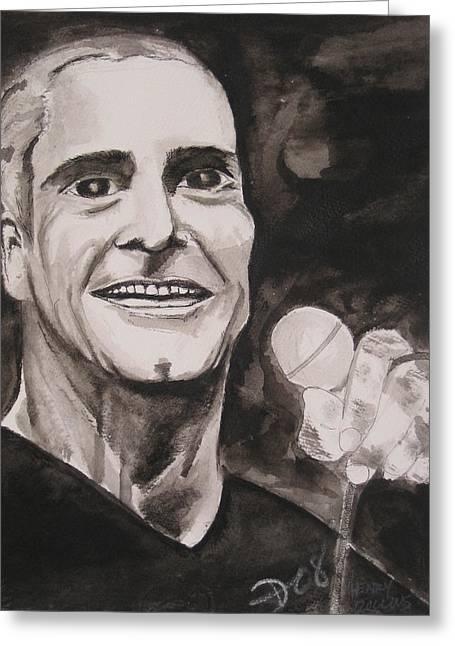 Henry Rollins Greeting Card by Darkest Artist