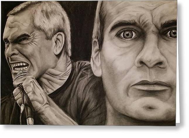 Henry Rollins Greeting Card
