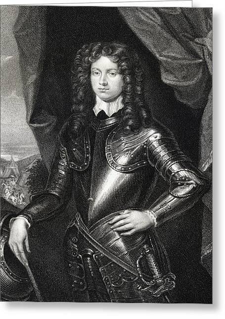 Henry Spencer 1st. Earl Of Sunderland Greeting Card