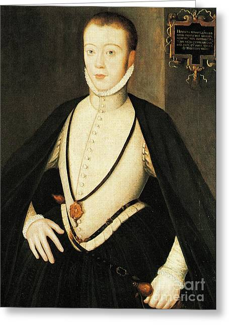 Henry Stewart Lord Darnley Married Mary Queen Of Scots 1565 Greeting Card