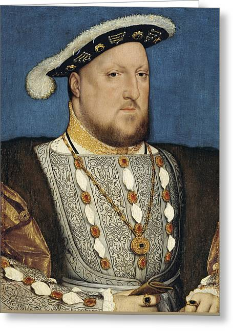 Henry Viii - Hans Holbein The Younger Greeting Card
