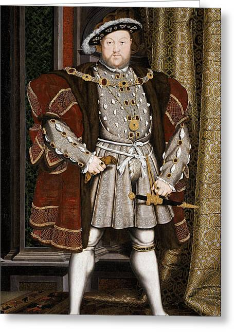 Henry Viii Of England Greeting Card by War Is Hell Store