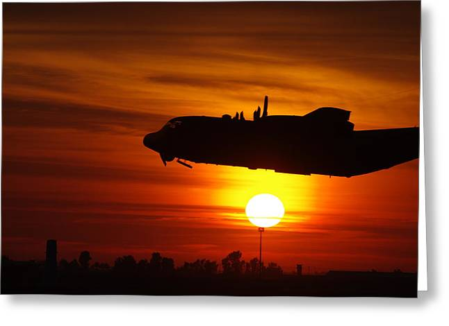Hercules Rising Greeting Card by Don Prioleau
