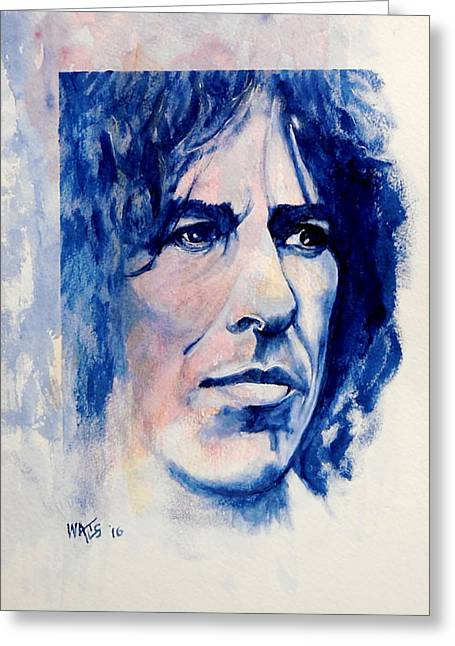 Here Comes The Sun - George Harrison Greeting Card by William Walts