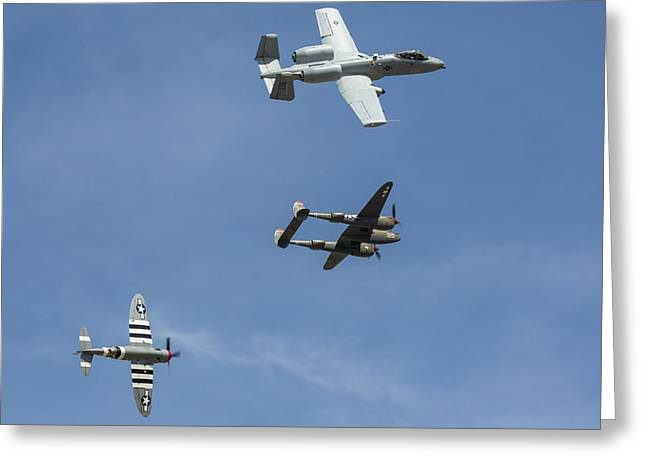 Heritage Flight Break Greeting Card