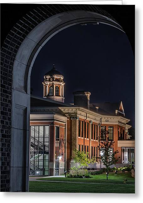 Heritage Hall - Western Michigan University Greeting Card