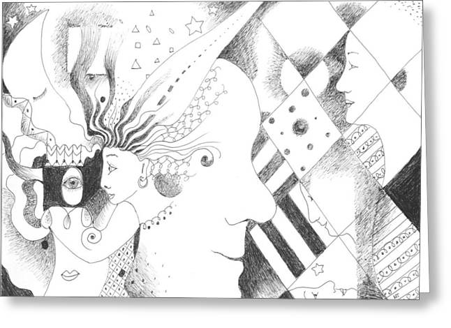 Human Values Greeting Cards - Heritage Greeting Card by Helena Tiainen