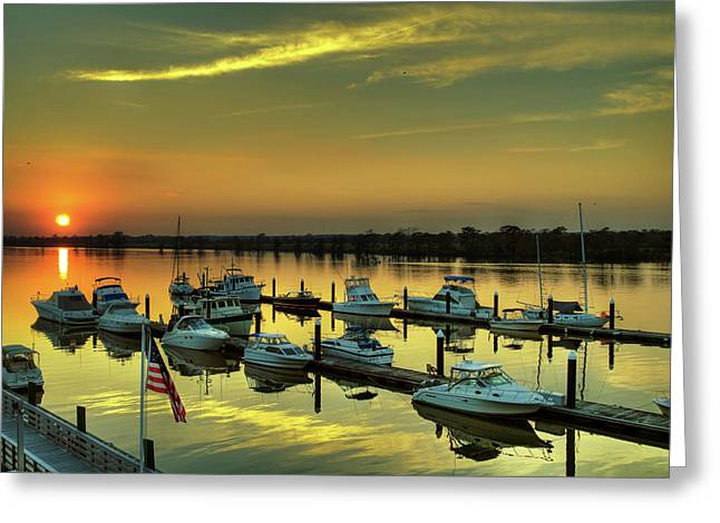 Heritage Marina Greeting Card