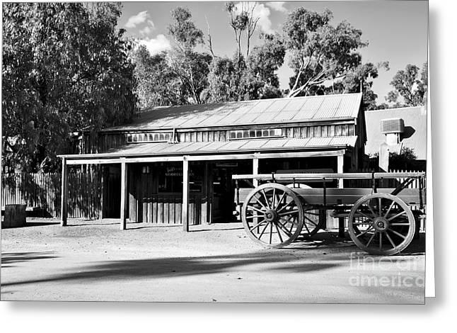 Heritage Town Of Echuca - Victoria Australia Greeting Card by Kaye Menner
