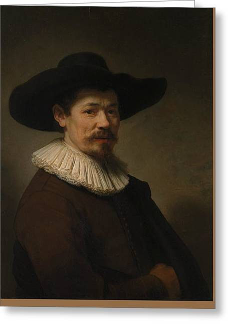 Herman Doomer Greeting Card by Rembrandt