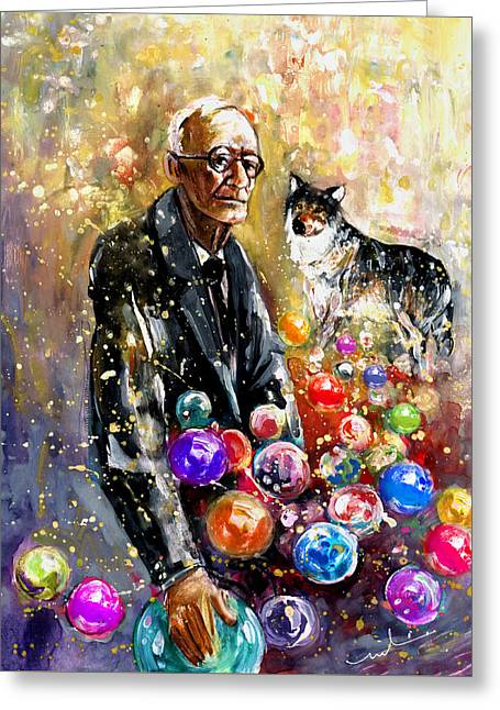 Hermann Hesse Greeting Card