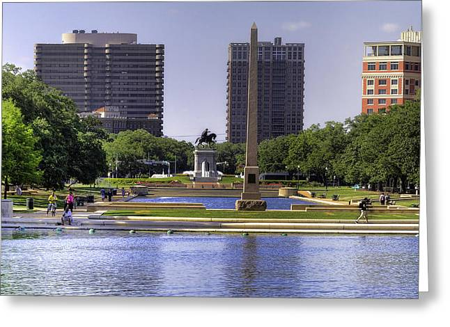 Hermann Park Greeting Card
