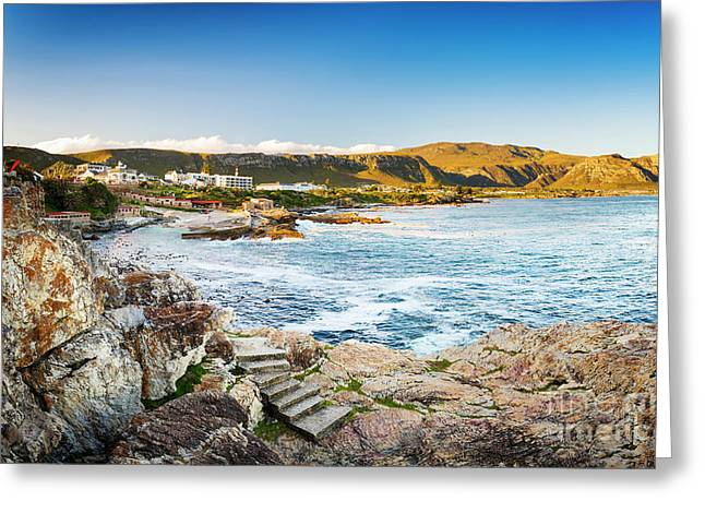 Hermanus South Africa Greeting Card by Tim Hester