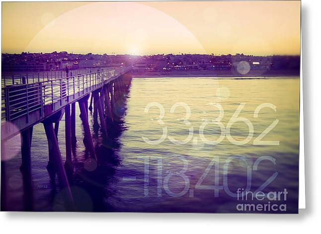 Hermosa Beach California Greeting Card