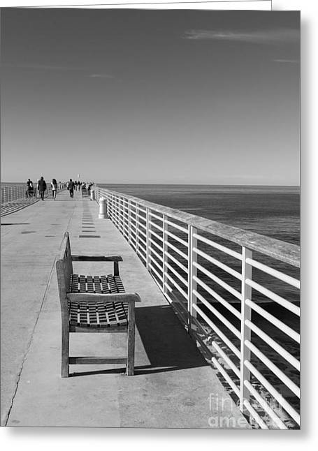 Hermosa Beach Seat Greeting Card