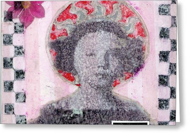 Greeting Card featuring the mixed media Hero by Desiree Paquette