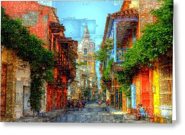 Heroic City, Cartagena De Indias Colombia Greeting Card