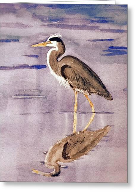 Heron No. 2 Greeting Card