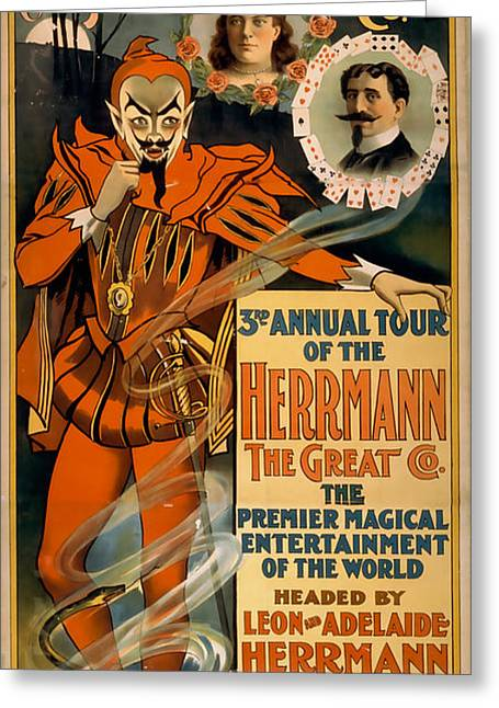 Herrmann The Great Greeting Card