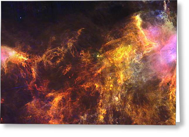 Herschel's View Of The Horsehead Nebula Greeting Card by Nasa