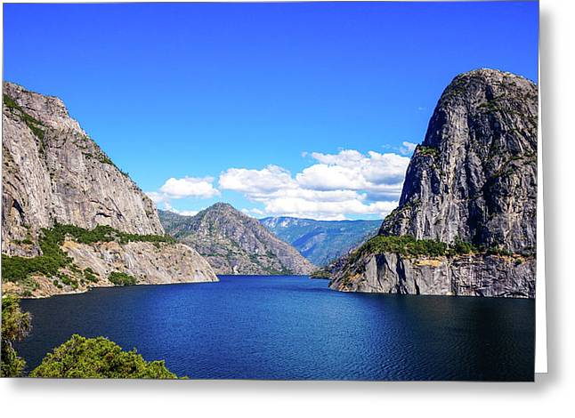 Hetch Hetchy Reservoir Yosemite Greeting Card
