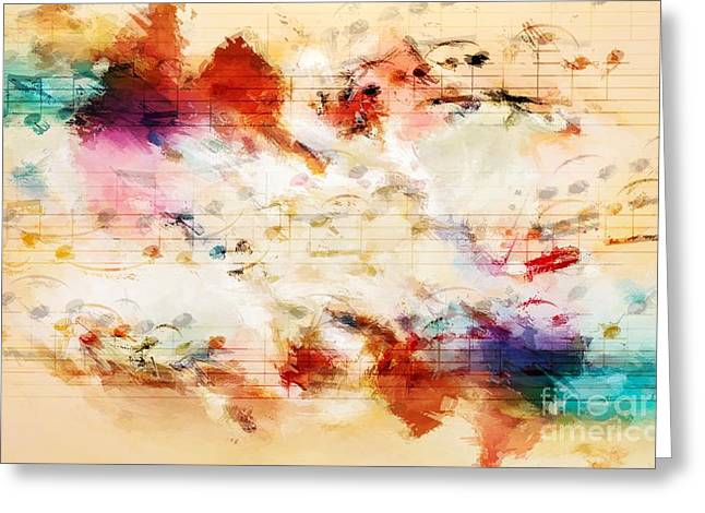 Heterophony And Inverted Harmony Greeting Card