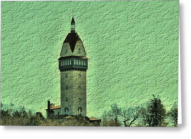 Heublein Tower Greeting Card