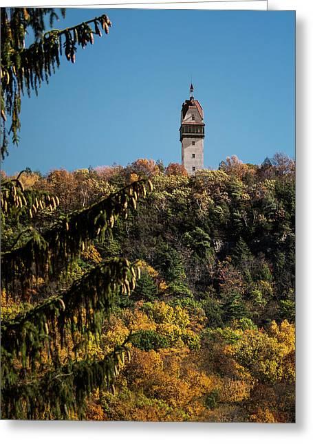 Heublein Tower Greeting Card