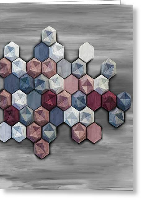 hex Greeting Card