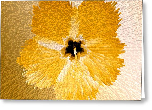 Hibiscus Explosion Greeting Card