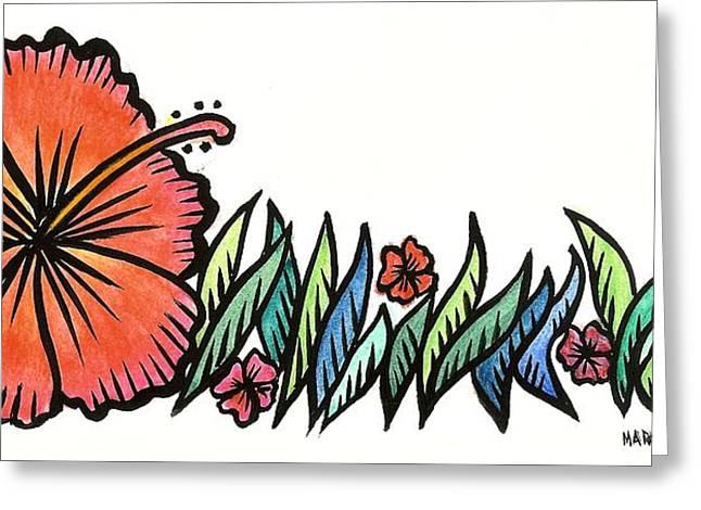 Hibiscus Guam 2009 Greeting Card