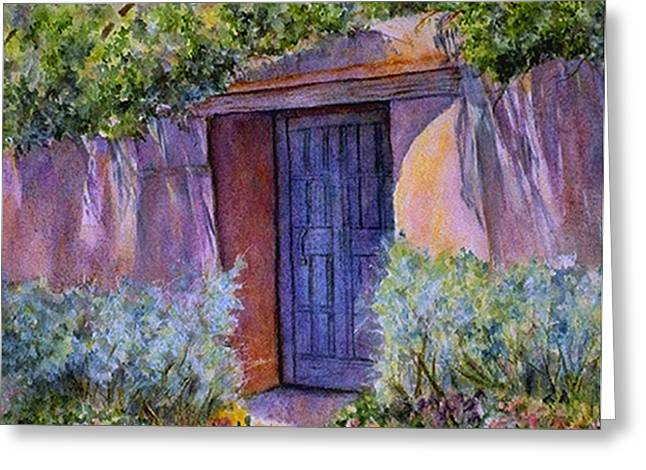 Hidden Assets Greeting Card by Ann Peck