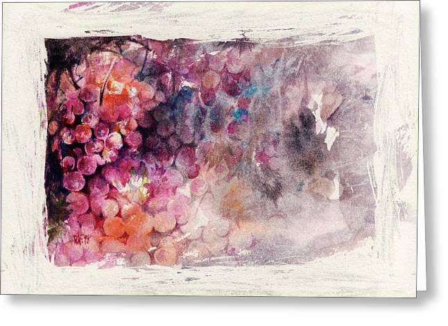 Hidden Beauty Greeting Card by Rachel Christine Nowicki